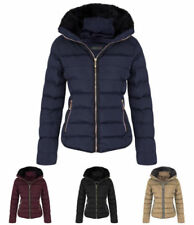 Faux Fur Coats & Jackets Winter Quilted for Women
