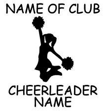 Car Window Vinyl Decal Sticker- Sports Cheerleading Personalized