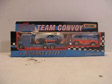 1992 MATCHBOX Super Star Team Convoy Diecast RICHARD PETTY Transporter Truck 3pc