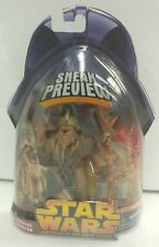 STAR WARS Revenge Of The Sith Sneak Preview Wookie Warrior Figure 2005 NEW