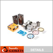 Fits 89-95 Suzuki Sidekick Geo Tracker 1.6L SOHC Pistons Bearings Ring Set G16KV
