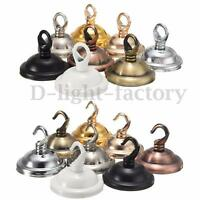 Ceiling Rose Hook Ring Plate For Light Fitting Chandelier Dia Choose Finish
