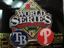2008 World Series Dueling Pin - Phillies vs. Rays Ver. 3