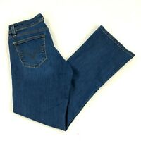 LEVY'S Curvy Bootcut 529 Jeans Dark Wash Womens size 8