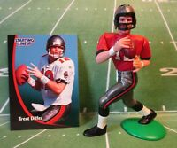 1998  TRENT DILFER - Starting Lineup Loose Football Figure & Card - BUCCANEERS