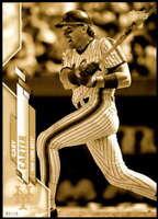 Gary Carter 2020 Topps Short Print Variations 5x7 Gold #649 /10 Mets