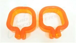 2 PWC Drive-On Jet Ski Dock Replacement Orange Side by Side Straps