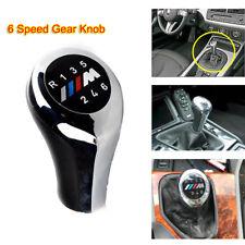 Gear Knob Shift Chrome 6 speed for BMW M sport E36 E46 E90 E91 E93 E39 E60 E61