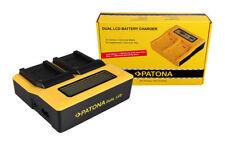 PATONA Dual LCD USB Ladegerät f. Nikon EN-EL12 Coolpix AW100 AW110 P300 P310 P33
