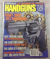 Eight-Shot .357 Magnum Colt .380 Auto Pistol 1996 Handguns  Magazine Vintage