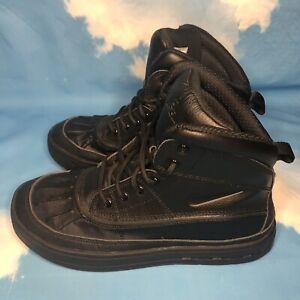 Nike Unisex ACG Woodside 2 High Gs Boots Black Size US 7Y, 7 Men , 8.5 Women