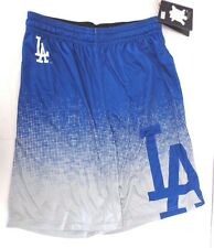 Men's Los Angeles Dodgers Blue Grey Gradient Shorts Gym