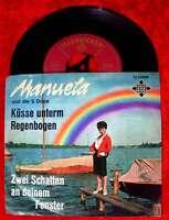 Single Manuela: Küsse unterm Regenbogen (Telefunken U 55 838) D
