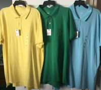 Men's Polo Shirt SONOMA S/S CORE PIQUE The Sun  Washed for Softness $30 XL XXL