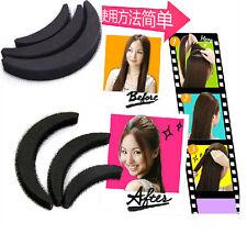 3pcs Half Moon Hair Styling Clip Stick Bun Maker Braid Tool Hair Accessories