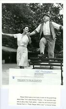 RAQUEL WELCH MICKEY ROONEY SMILE ROMP CENTRAL PARK RAQUEL WITH LOVE ABC TV PHOTO