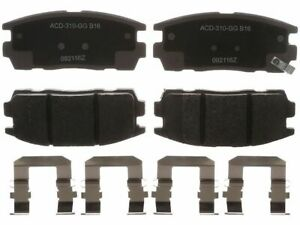 For 2010-2017 GMC Terrain Brake Pad Set Rear AC Delco 76222KP 2013 2011 2012