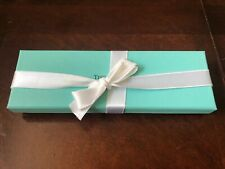 "NEW! Tiffany & Co Empty Keepsake Box (GIFT BOX)   7.5"" x 2.5"""