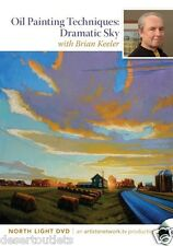 Oil Painting Techniques - Dramatic Sky Create Drama by Brian Keeler  DVD