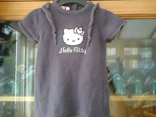 GIRLS HELLO KITTY KNITTED JUMPER  DRESS AGE 3M (NEW)