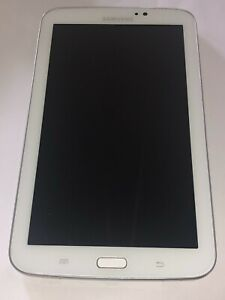 SAMSUNG GALAXY TAB 3 WHITE USED BUT IN GOOD CONDITION CHEAP BARGAIN FREE POSTAGE