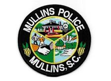 SOUTH CAROLINA  - CITY OF  MULLINS POLICE DEPARTMENT  -   HANDSHAKE & TRAIN