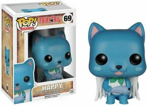 Funko POP Anime: Fairy Tail Happy Action Figure, 3.75 inches