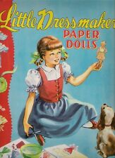 Vintage Uncut 1949 Little Dressmaker Paper Dolls~#1 Reproduction~Adorable!