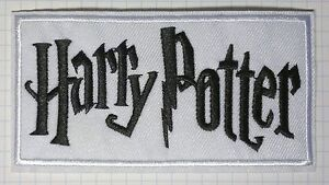 Harry Potter Embroidered Robe Iron On Patch 10 x 5.4 cm