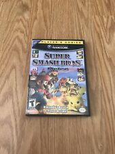 Super Smash Bros Melee (Nintendo GameCube, 2001) CASE AND MANUAL ONLY