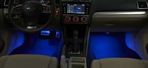 2013-2020 Subaru Sti Wrx Interior Blue Illumination Kit Genuine Forester Impreza