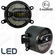 LED Fog+DRL Lamps lights for front of LandRover Freelander 2 spot LR2 2in1 spot