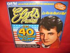 Elvis Presley 2 x LP's 40 Greatest Hits / 40 Plus Grands Succes (French)