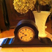 Antique Art-Deco SESSIONS Mantle Clock ~ Hardwear Intact & Key ~Not Working ~