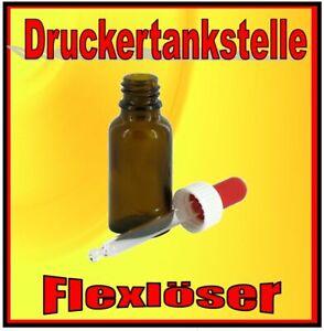Flexentferner Flockentferner Folienentferner 20ml zum Folien lösen Dosierpipette