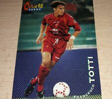 CARD CALCIATORI PANINI 98 ROMA TOTTI CALCIO FOOTBALL SOCCER ALBUM