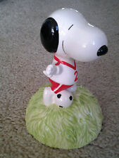 New ListingWillitts Snoopy Soccer Vintage 1980's era Music Box plays Who Can I Turn To