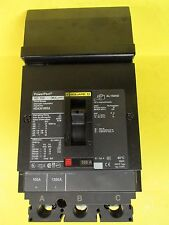 * Square D Powerpact 100 Amp 3 Pole Circuit Breaker Hda36100Sa . U-105