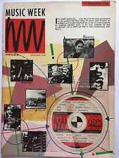 MUSIC WEEK MAGAZINE 20 JANUARY 1990 ISSN 0265-1548  JON CRAWLEY   LS