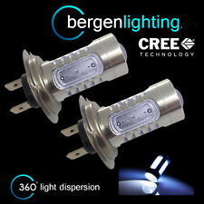 2X H7 WHITE CREE LED FRONT MAIN HIGH BEAM LIGHT BULBS HIGH POWER XENON MB501402