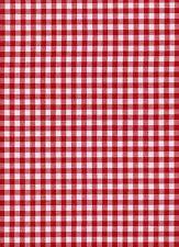 32ct ZWEIGART Murano CARRE Tessuto Fat Quarter 9219 Rosso/Bianco 49x84cms