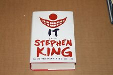 IT STEPHEN KING NOVEL 2017 EDITION HC BOOK MOVIE NICE SHAPE FREE SHIPPING!