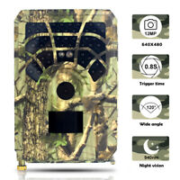 Trail Camera 12MP 1080P FHD Waterproof Wildlife Hunting Scouting Game bara