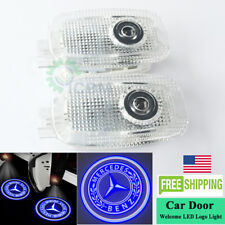 2x Ghost Led Door Step Courtesy Shadow Logo Light Mercedes S-Class Amg 2007-2013 (Fits: Mercedes-Benz)