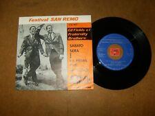 GIL FIELDS E I FRATERNITY BROTHERS - SABATO SERA - LA PRIMA  / LISTEN - POPCORN