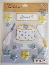 K&co 3D Stickers Medley - Cake Decorating - baking