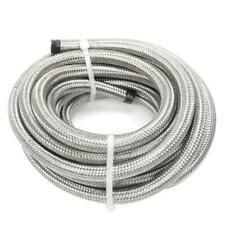20 Feet An6 38 Stainless Steel Braided Fuel Oil Gas Line Hose New