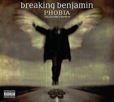 Phobia [CD/DVD] [PA] by Breaking Benjamin (CD, Apr-2007, 2 Discs, Hollywood)
