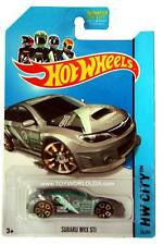 2014 Hot Wheels #26 HW City Night Burnerz Subaru WRX STi Treasure Hunt