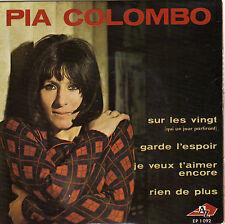 PIA COLOMBO SUR LES VINGT FRENCH ORIG EP JEAN CLAUDRIC
